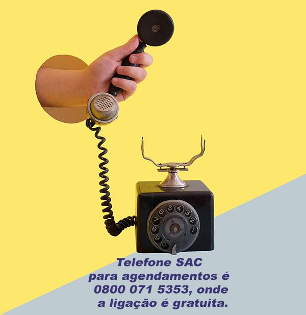 SAC Agendamento por telefone