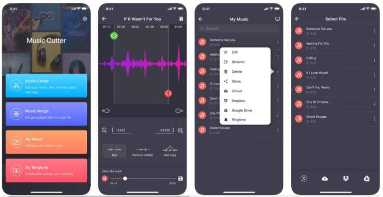 Aplicativo Para iOS Para Cortar Músicas / Fonte: Captura de Tela do Aplicativo Oficial