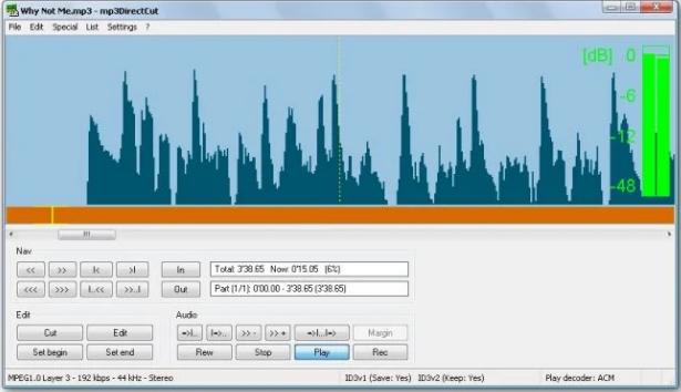Programa Para Cortar Música No Computador / Fonte: Captura de Tela do Aplicativo Oficial