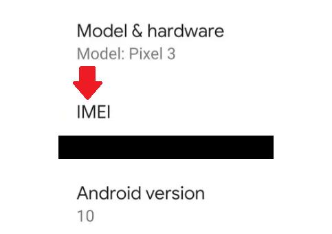 APP Para Ver IMEI No Android / Fonte: Captura de Tela